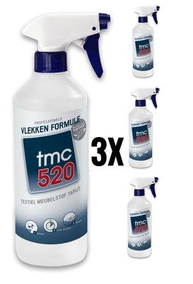 3x TMC520 Vlekken Formule /Set